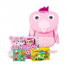 Рюкзак с подарками Affenzahn Finja Flamingo
