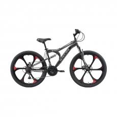 "Велосипед Black One Totem FS 26 D FW 2020, 16"""