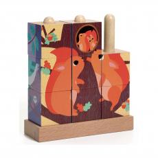 Кубики-пазл Djeco В лесу