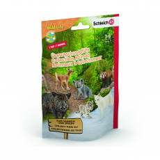 Пакетик-сюрприз с 1 фигуркой Schleich Wild Life