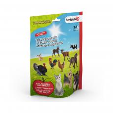 Пакетик-сюрприз с 3 фигурками Schleich Farm World