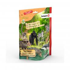 Пакетик-сюрприз с 3 фигурками Schleich Wild Life