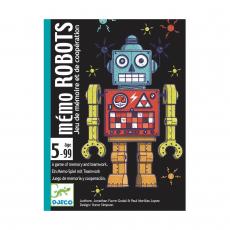 Карточная игра Djeco Роботы