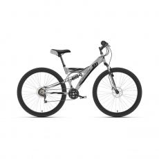 "Велосипед Black One Flash FS 27.5 D 2021, 18"""
