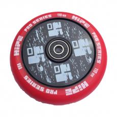 Колесо Hipe, 110 мм, черный/красный