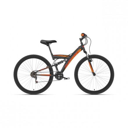 "Велосипед Black One Flash FS 26 2021, 16"""