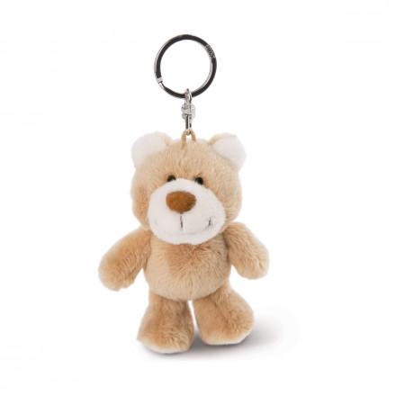 Мягкая игрушка Nici Мишка золотисто-коричневый, брелок, 10 см