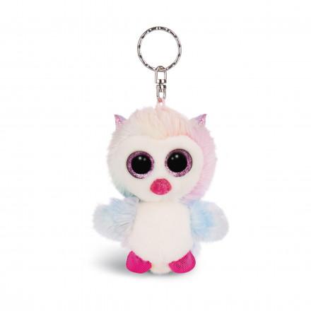 Мягкая игрушка Nici Сова Принцесса Холли, брелок, 9 см