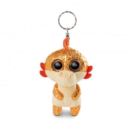 Мягкая игрушка Nici Дракон оранжевый Йо-Йо, брелок, 9 см