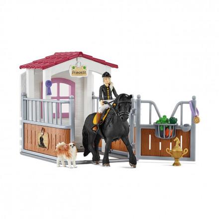 Набор Schleich Загон для лошадей с Тори и Принцессой