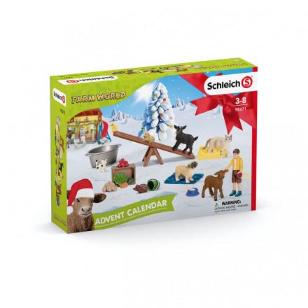 Рождественский календарь Schleich Farm World 2021