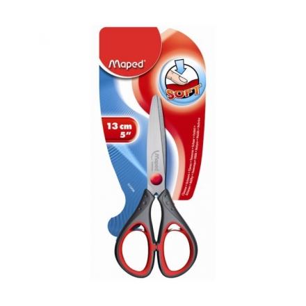 Ножницы Maped Start Soft, 13 см, с прорезиненными ручками, сталь, блистер