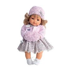 Кукла Белла в розовом, плачет, 42 см