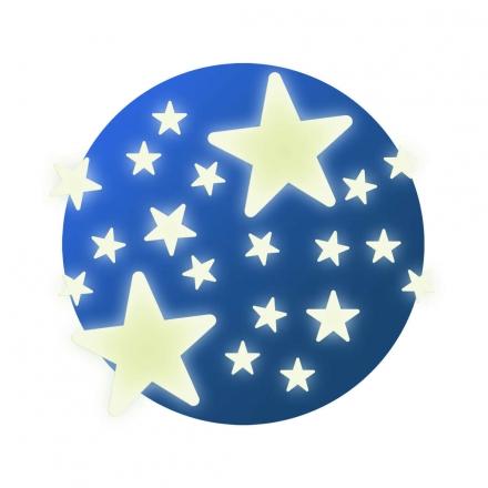 Светящиеся наклейки на стену Djeco Звёздочки
