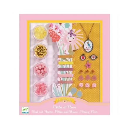 Набор для творчества Djeco Бусины и цветочки