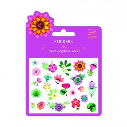Наклейки Djeco Тропические цветы