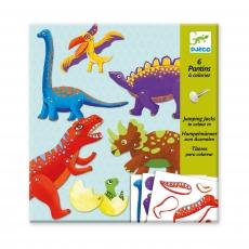 Двигающиеся фигуры Djeco Динозавры