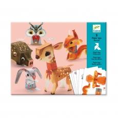 Волшебная бумага Животные