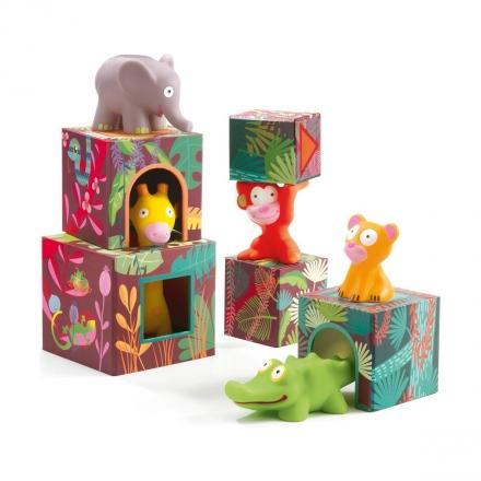 Набор кубиков Djeco Джунгли