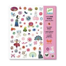 1001 наклеек для девочек Djeco