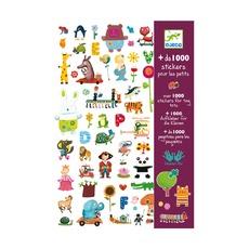 1000 наклеек для малышей Djeco