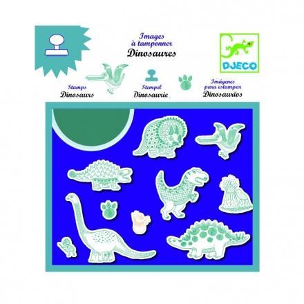 Набор штампов Djeco Динозавры