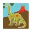 Набор трафаретов Djeco Динозавры