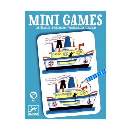 Мини-игра Djeco Найди отличия Реми