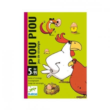 Карточная игра Djeco Чик-чирик