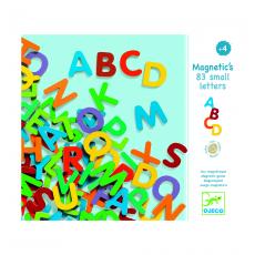Деревянные магниты Djeco Латинские буквы