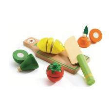 Набор для разрезания Djeco Фрукты и овощи
