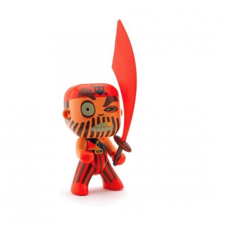 Фигурка Djeco Пират Красный капитан
