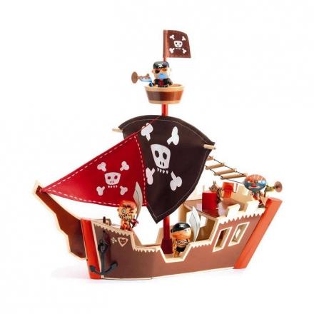 Фигурка Djeco Пиратский корабль