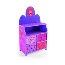 Туалетный столик Djeco, розовый