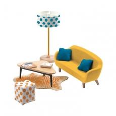 Мебель для кукольного дома Djeco