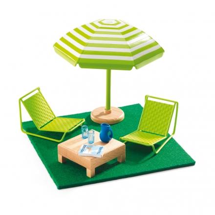 Мебель для кукольного дома Djeco Терраса