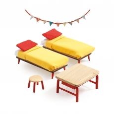 Мебель для кукольного дома Djeco Спальня для детей