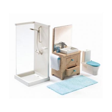 Мебель для кукольного дома Djeco Ванна