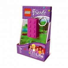 Брелок-фонарик Lego Friends, лиловый