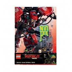 Блокнот Lego Ninjago Movie, 96 листов с резинкой