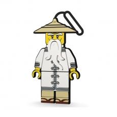 Бирка на ранец Ninjago Movie Sensei
