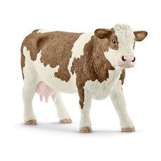 Фигурка Schleich Симментальская корова