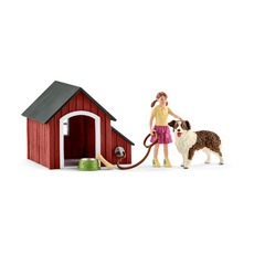 Набор Schleich Собачья будка