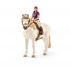 Набор Schleich Наездница с лошадью