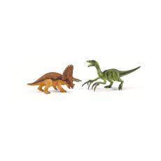 Набор Schleich Трицератопс и теризинозавр, малые