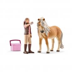 Набор Schleich Исландский пони и конюх