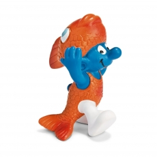 Фигурка Schleich Смурфик – рыбы