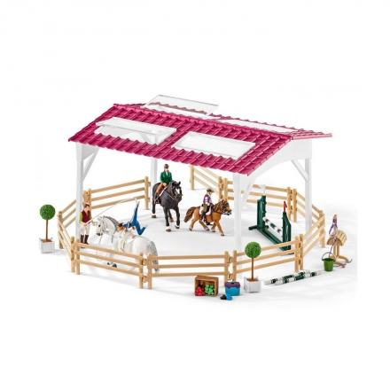 Набор Schleich Школа верховой езды с лошадьми и наездниками
